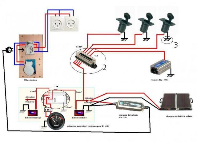 pin schema electrique camping car xpx on pinterest. Black Bedroom Furniture Sets. Home Design Ideas