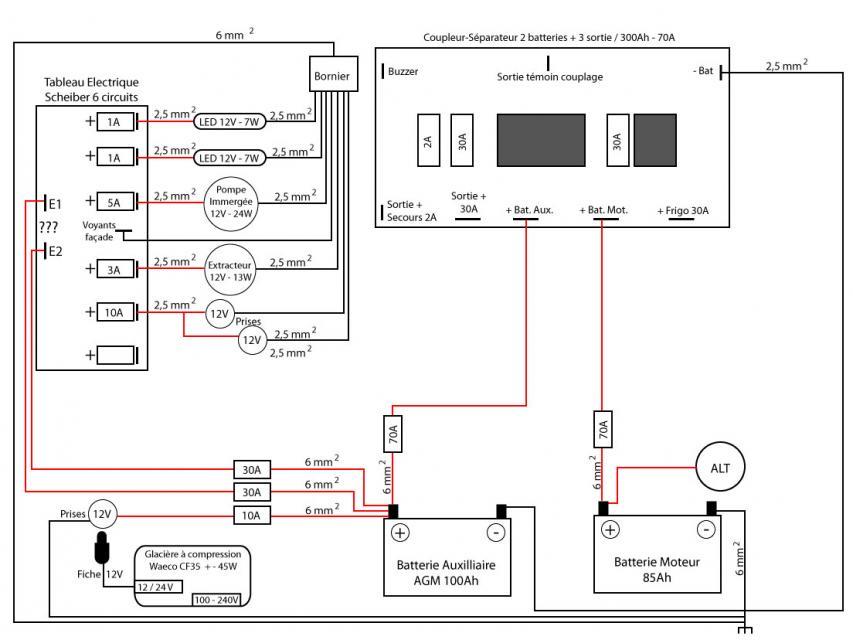 Schema electrique coupleur