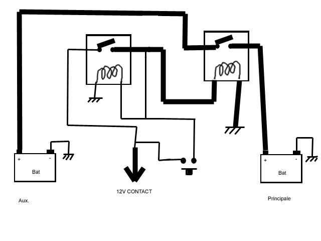 relais de decouplage  relais de d couplage pour tarif heures creuses ld 01 baco  schema relais