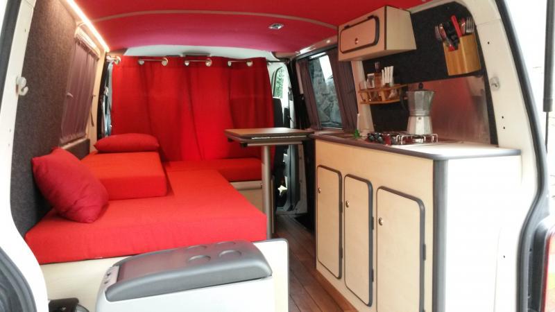 voir le sujet vw t5 court 2007 vacances we windsurf. Black Bedroom Furniture Sets. Home Design Ideas