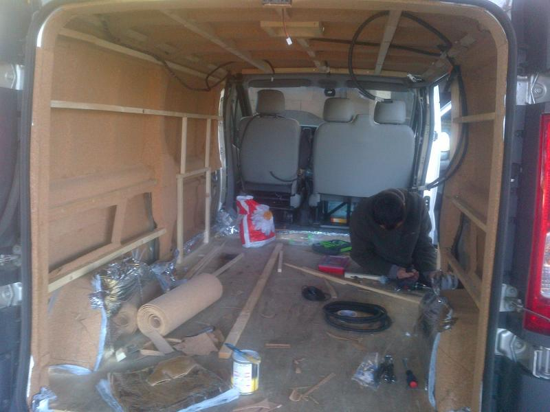 Isoler Camping Car Hiver