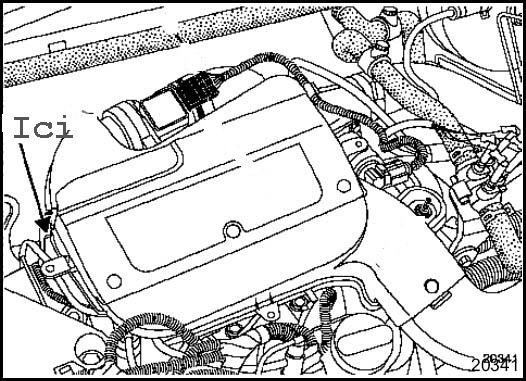 schema moteur opel vivaro