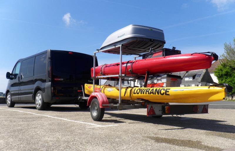 Afficher le sujet fourgon pour trips for Porte kayak voiture