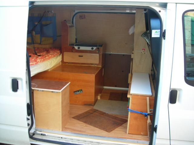 Fabrication Meuble Cuisine Camping Car Image Sur Le