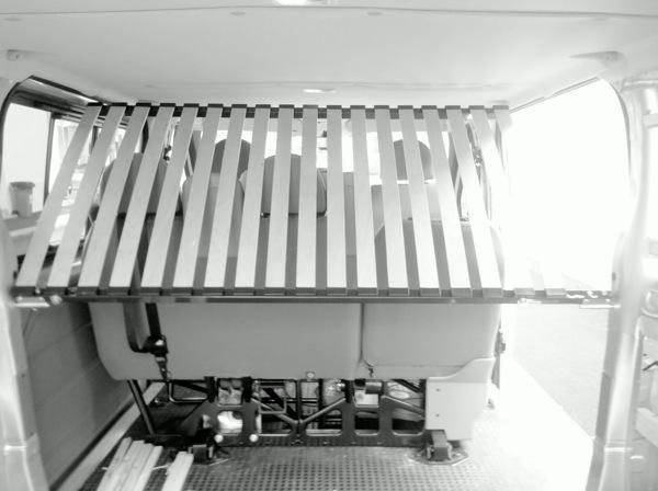 Voir le sujet transit kombi 2012 l2h1 5 places tljrs we vac - Support ciel de lit sur pied ...
