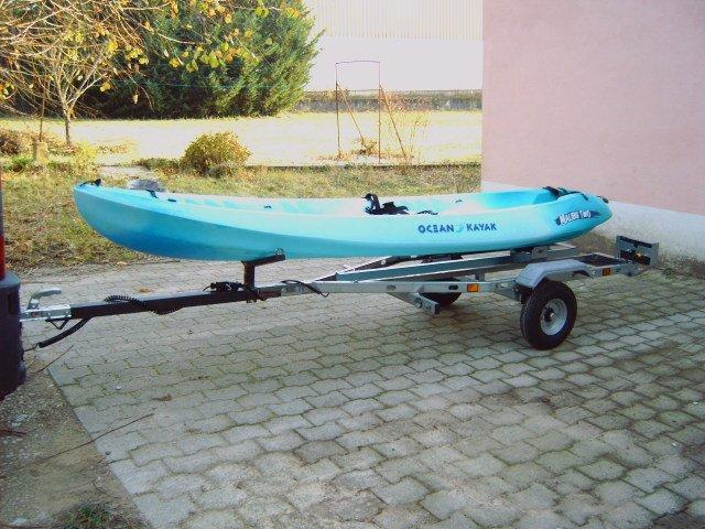 Remorque kayak v lo pas cher 123 remorque for Porte kayak voiture