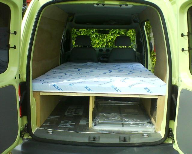 Voir le sujet vw caddy van court tdi dsg 2007 camping car - Amenager un fourgon soi meme ...