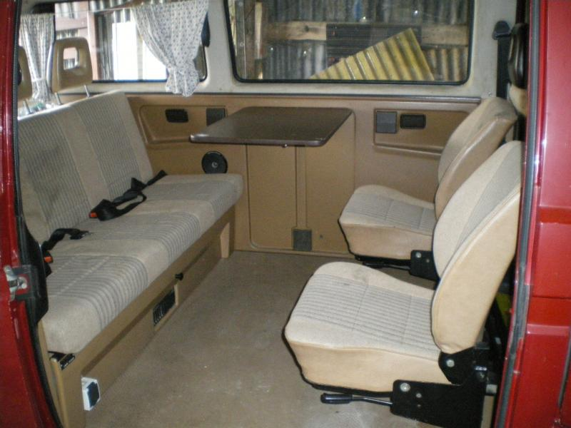 Voir le sujet t3 multivan for Interieur westfalia t3