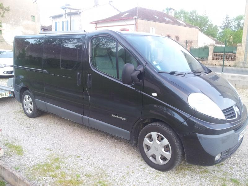 voir le sujet renault trafic passenger l2h1 6 places tout les. Black Bedroom Furniture Sets. Home Design Ideas