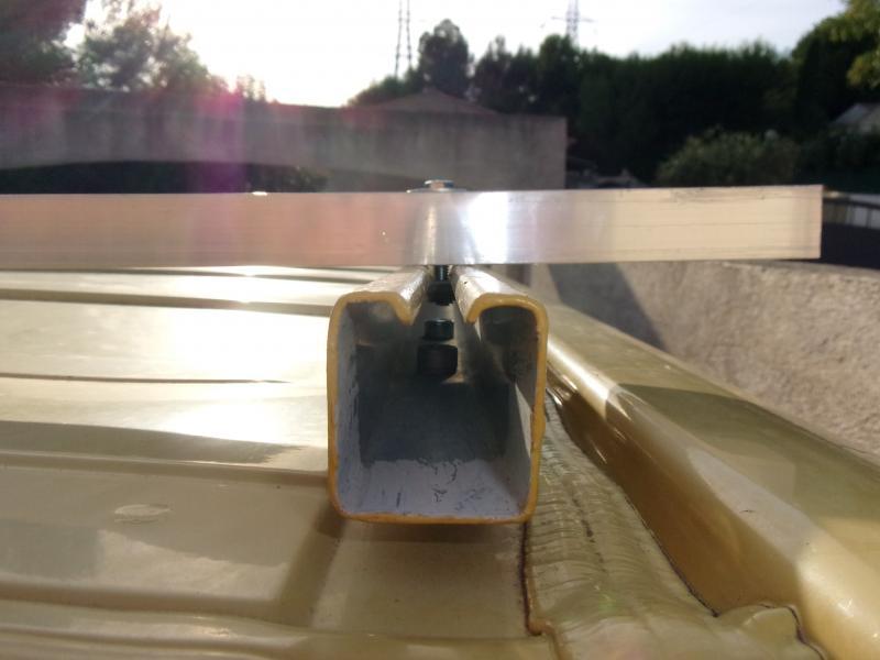 Voir le sujet fabriquer des barres de toit - Fabriquer une echelle de toit ...
