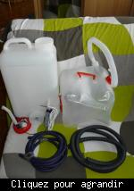 Pompe electrique pour jerrican