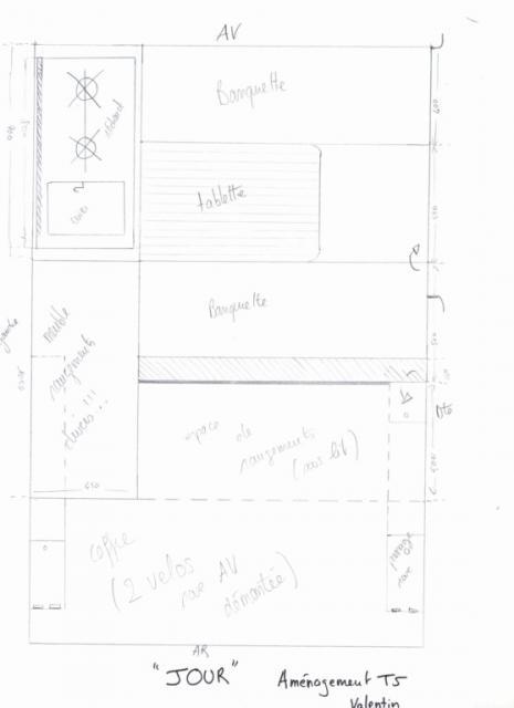 meuble de cuisine et le fermera par la mme occasion mon pied rentre dans le meuble ni vu ni. Black Bedroom Furniture Sets. Home Design Ideas