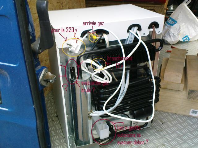 Voir le sujet meuble frigo trimixte et l ctricit - Installer une grille d aeration dans un mur ...
