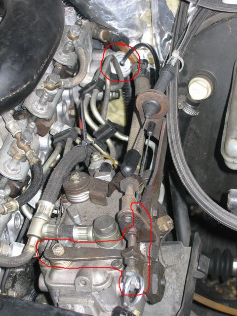 Calage du moteur au demarrage a froid traffic 1100D moteur J8S de ...