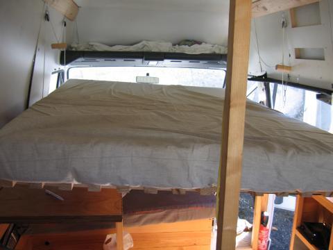 descend de lit fabulous ueplouc non cuest bien un seul matelas de avec un sommier latte with. Black Bedroom Furniture Sets. Home Design Ideas